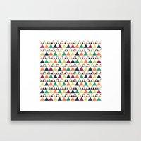 Hills & Trees Framed Art Print