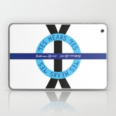 """YES means YES - ROUND – SB 967 – California's so-called """"yes means yes"""" law Laptop & iPad Skin"""