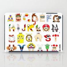 Super Mario Alphabet iPad Case