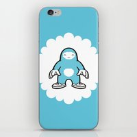 blue gigant iPhone & iPod Skin