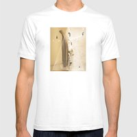The Oracle Mens Fitted Tee White SMALL