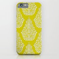 SPIRIT Lime White iPhone 6 Slim Case