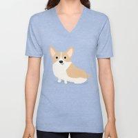 Corgi - Cute Dog Series Unisex V-Neck