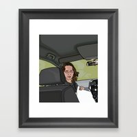 The Road Trip Framed Art Print