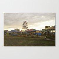 Empty Brazilian Carnival Canvas Print