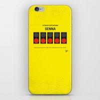 No075 My senna minimal movie poster iPhone & iPod Skin