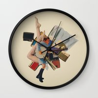 Pinky's Out Of Jail Wall Clock