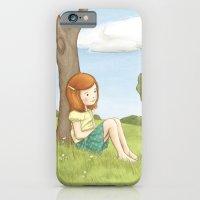 iPhone & iPod Case featuring Being Katharine Hepburn by Amanda Francey