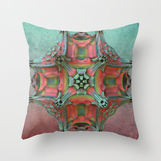 That Odd Flower Throw Pillow