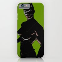 iPhone & iPod Case featuring femme fatale by Misha Dontsov