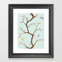 Jenny Chinoiserie On Min… Framed Art Print