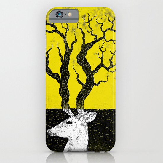 Deer, Death & Renewal iPhone & iPod Case