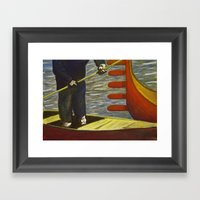 Surreal Transport Framed Art Print