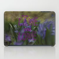 Live For Love iPad Case
