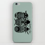 Owls Of The Nile iPhone & iPod Skin