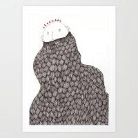Beard Man Art Print