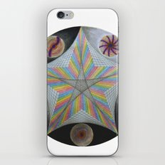 Galactic Pentagram (ANALOG zine) iPhone & iPod Skin