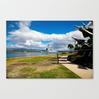 Navy Ship 1 Canvas Print
