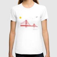 san francisco T-shirts featuring San Francisco.  by Irmak Berktas