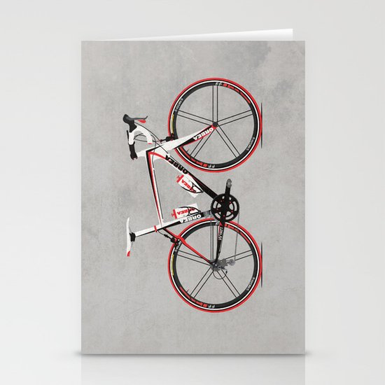 Race Bike Stationery Card