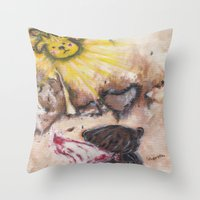 Angelbaby Throw Pillow
