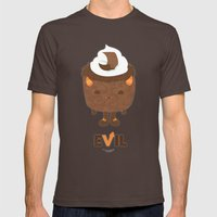 Devil's Food Cake Mens Fitted Tee Brown SMALL