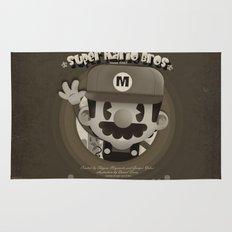 Mario Bros Fan Art Rug