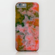 Peach and Green Slim Case iPhone 6s