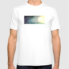 L'éveil White Mens Fitted Tee SMALL