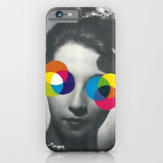 Psychedelic glasses iPhone 6s Slim Case