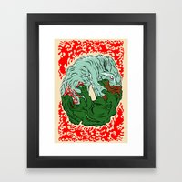 Beast Feast Framed Art Print