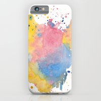 iPhone & iPod Case featuring RAINBOW SPLATTER by natalie sales