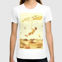 food T-shirts featuring Food by Alendro