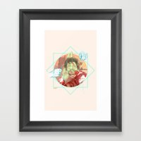 The King Of The North Framed Art Print