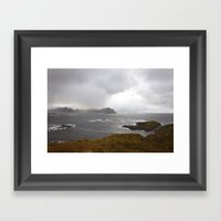 Lofoten Seaview Framed Art Print