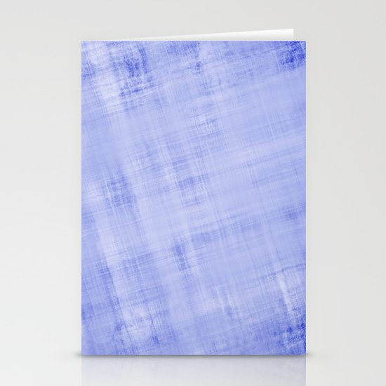 Blue Abstract Stationery Card