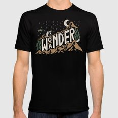 Wo/aNDER Mens Fitted Tee Black MEDIUM