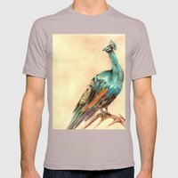 Peacock Mens Fitted Tee Cinder SMALL