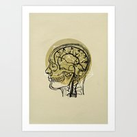 Penrose Anatomy Art Print