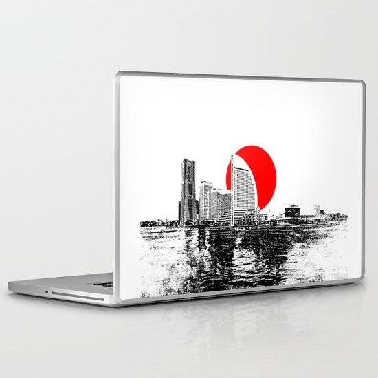 Modern Japan - Yokohama 2 Laptop & iPad Skin