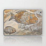 Fishes  /  Mirror Underw… Laptop & iPad Skin