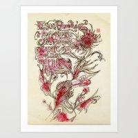 Egon Bondy's Happy Hearts Club Banned Art Print