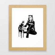 Cat-tastic Framed Art Print