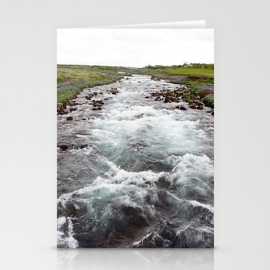 down stream Stationery Card