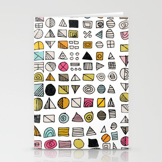 HIEROGLYPHS  Stationery Card