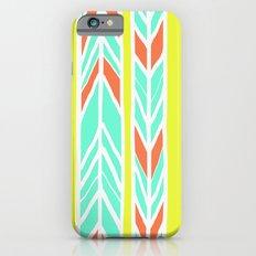 Stripes: Burnt Umber & Friends iPhone 6 Slim Case