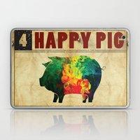 Happy pig Laptop & iPad Skin