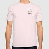 The Pink Pony Mens Fitted Tee Light Pink SMALL