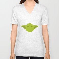 Star Wars Minimalism - Yoda Unisex V-Neck