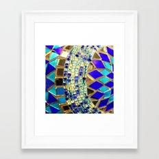 Mosaic And Beads [photog… Framed Art Print